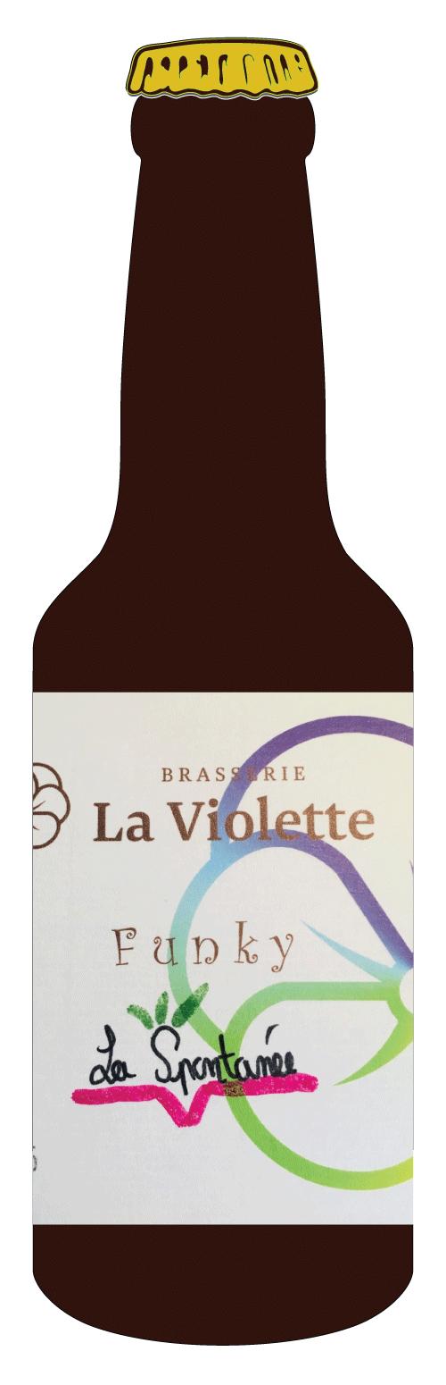 Bouteille bière CBD - two flowers IPA